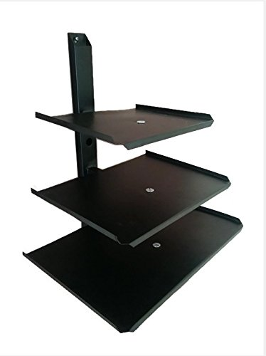 Smart Shelter Triple Deck Set Top Box / DVD / Playstation / Stabilizer Wall Mount Bracket / Stand  available at amazon for Rs.949
