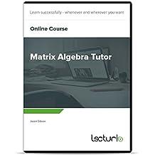 Online-Videokurs Matrix Algebra Tutor von Jason Gibson