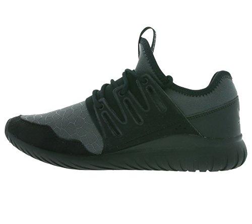 adidas  Tubular Radial J, chaussure de sport Unisexe - enfant Schwarz