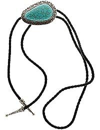 Joyería de Corazón Turquesa Corbata Estados Unidos Estilo Vaquero Corbata Lazo Bola Bolo Occidental
