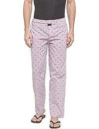 Nick & Jess Men's Lounge Wear : Pink Striped Printed Pajama BottomsNick&Jess Men's Lounge Wear : White Printed...
