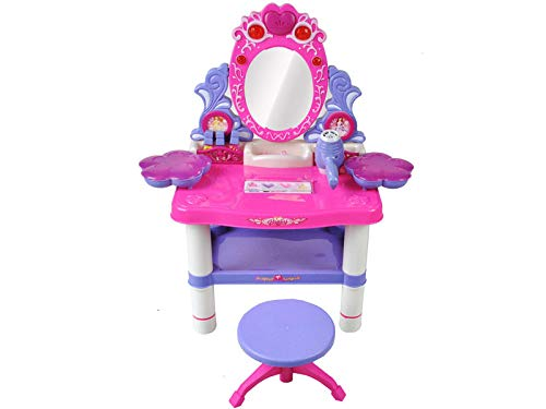 Maxy Frisiertisch Schminktisch Kindertisch Spiegel Schönheitsstudio Hocker 1399
