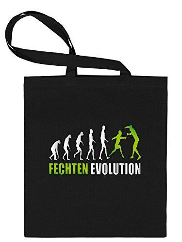 FECHTEN EVOLUTION 552 Stoffbeutel (Schwarz-Grün)