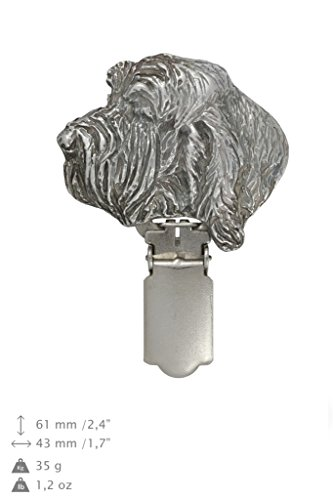Grand basset griffon vendeen, Hund, Hund clipring, Hundeausstellung Ringclip/Rufnummerninhaber, limitierte Auflage, Artdog