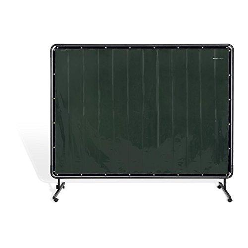 ißschutzwand Schweißvorhang SWS02 (Vinyl-Kunststoff - 0,4 mm, KEVLAR®-Nähte und Fäden, Maße Schweißschutzwand: 239 x 196 cm) ()