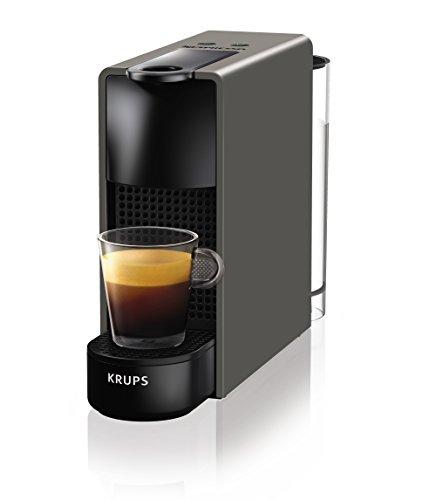 Krups Nespresso XN110B Essenza Mini Kaffeekapselmaschine (1260 Watt, Thermoblock-Heizsystem, 0,7...