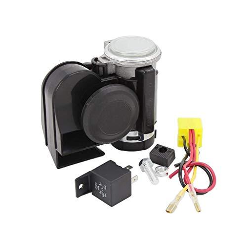 Backbayia 12 V Lufthorn für Golfschläger, kompakt, mit automatischer Hupe für Fahrzeuge mit Motor für Motorrad, Auto, LKW