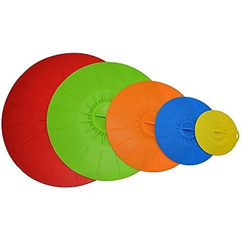 YOKIRIN 5 - è Bello Set Coperchio dai Colori Vivaci