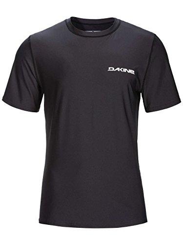 DAKINE 2017 Heavy Duty Loose Fit Short Sleeve Surf Shirt Black 10001016 Sizes- - ExtraLarge (Up Cover Sleeve Short)