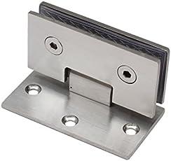 Edelstahl 6mm 8mm Glastür Scharnier Duschtür Türbeschlag Türbeschläge Beschlag