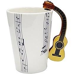 Giftgarden vasos de cafe de Guitarra clásico.