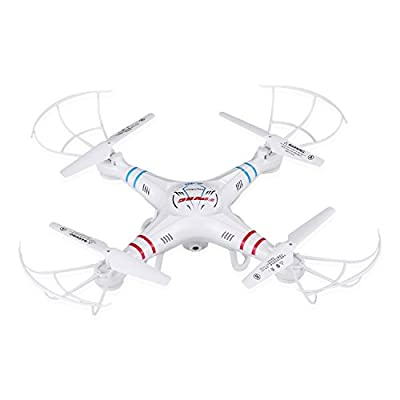 RC Quadcopter drone with 0.3MP HD Camera and Height Hold Function,FPVRC X5C-1 2.4G Headless 3D Flip Flying Airplane One key Home Remote Control Helicopter(White) (X5C-1) by FPVRC