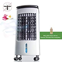 NEWTECK - Climatizador Portátil Frío Fresh Essence, Ventilador de Torre con Aromatización del Air...