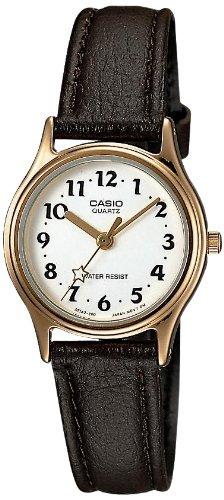 [カシオ]CASIO 腕時計 スタンダード レディス 合皮バンド アナログモデル LQ-398GL-7B3 レディース