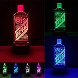 Klsoo Luz de noche Estilo Chino Famoso Vino Maotai Ilusión 7 Degradado De Color Dimming 3D Luz De La Noche Niño Niños Bebé Navidad Juguete Regalos