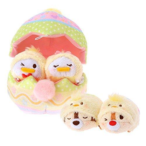 Disney Store Tsum Tsum (Egg House Set, Easter Disney Characters) Japan Import Cute Kawaii