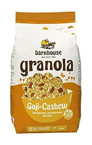 Barnhouse Granola Goji-Cashew, 3er Pack (3 x 375 g)