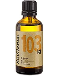 Naissance Lemon Essential Oil (no. 103) 50ml - Pure, Natural, Steam Distilled, Cruelty Free, Vegan and Undiluted