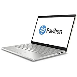 "HP Pavilion 14-ce0014ns - Ordenador Portátil 14"" FullHD (Intel Core i7-8550U, 8 GB de RAM, 256 GB SSD, Nvidia GeForce MX 150, Windows 10), Color Oro - Teclado QWERTY Español"
