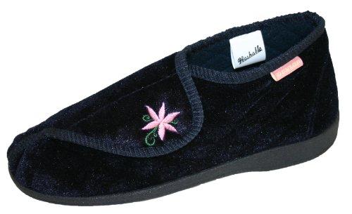 Dunlop, Pantofole donna Blu (Blu navy)