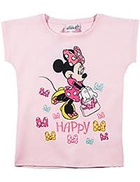 Disney Minnie Mädchen T-Shirt - rosa