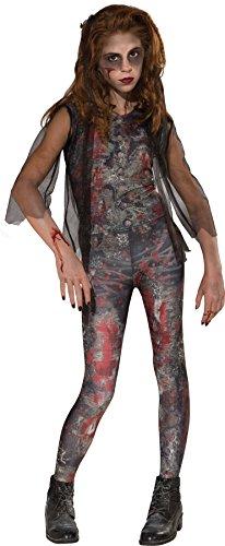 Zombie Drama Queen Kostüm für Mädchen Gr. S-L, Größe:L