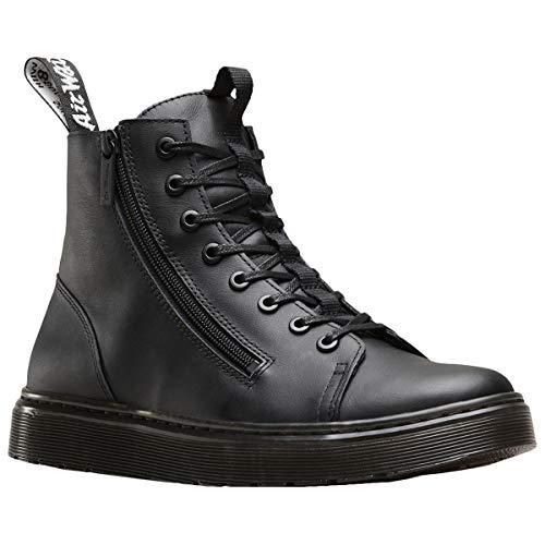 Dr. Martens Unisex Schuhe Talib Zip Schnürstiefel Boots Schwarz Combat Boot 43