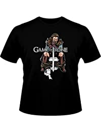 T-Shirt Cinéma Fun - Parodie Game of Thrones - Game of Trone... :) - T-shirt Homme Noir - Haute Qualité (780)