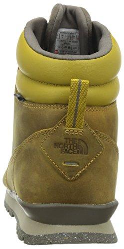 North Face - M Retour À Berkeley Redux Leather, Scarpe Sportive Uomo Verde / Marrone