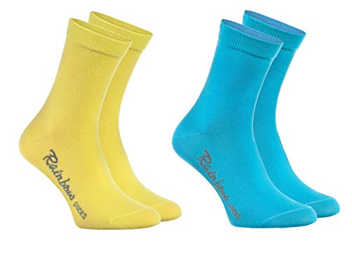 Calcetines amarillos niña