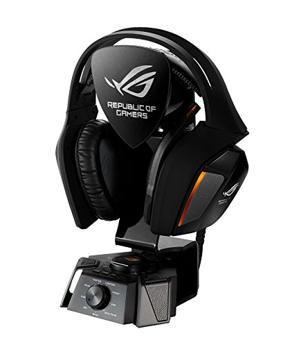 Asus ROG Centurion 7.1 Gaming Headset (USB-Audio Station, digitales Mikrofon, echter 7.1 Surround Sound) schwarz Digital Headset