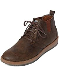Bacca Bucci Men Brown Synthetic Leather Casual Shoes
