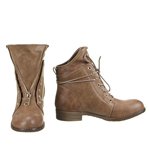 Chaussures, bottines mQ1829 Marron - Sable