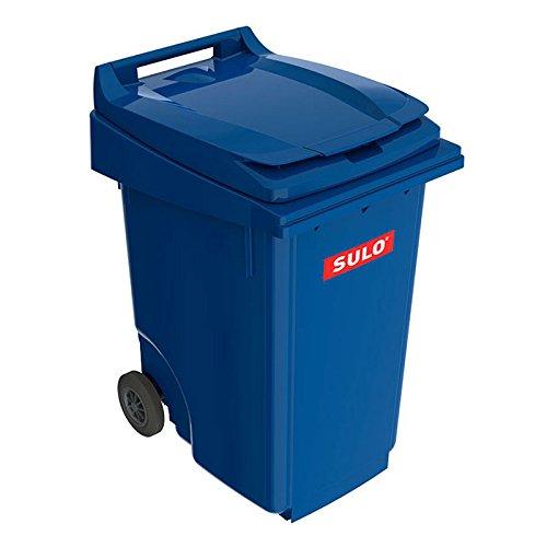 *SULO 2 Rad Müllbehälter MGB 360, Inhalt 360 l – Blau*