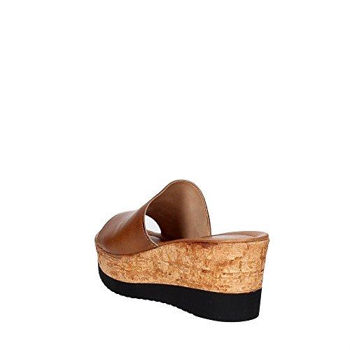 Cinzia Soft IAF2331 28T 001 Mules Femme Marron cuir