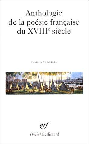Anthologie de la poésie française du XVIIIᵉ siècle