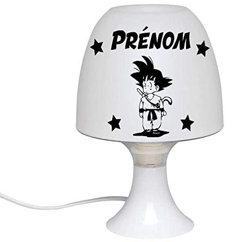 Lampe de chevet personnalis/ée pour chambre denfant et b/éb/é Mickey pr/énom de lenfant 25 dessins au choix