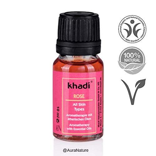 Khadi: Gesichts- und Körperöl Rose: Khadi: Groesse: Rose Öl 10 ml (10 ml) - Karotte Body Lotion