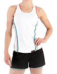 Sundried Womens Yoga Gym Vest Sleeveless Tank Top Training Sports and Tennis