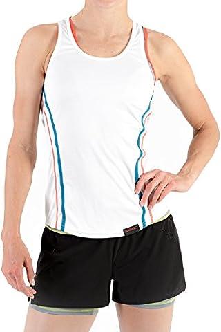 Womens Yoga Gym Vest by Sundried® - Sleeveless Tank Top Training Sports and Tennis (Medium)