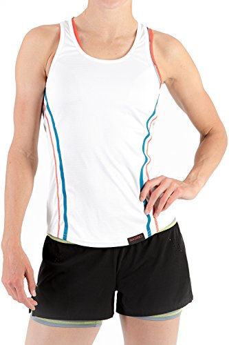 Sundried Womens Yoga Gym Vest by Sleeveless Tank Top Training Sports and Tennis