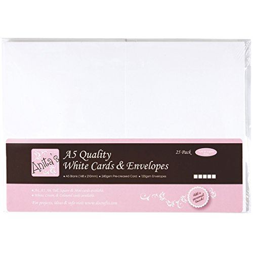 anitas-a5-card-and-envelope-pack-of-25-white