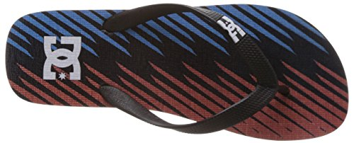 DC Shoes Spray Graffik, Tongs homme blue/red/black/bleu