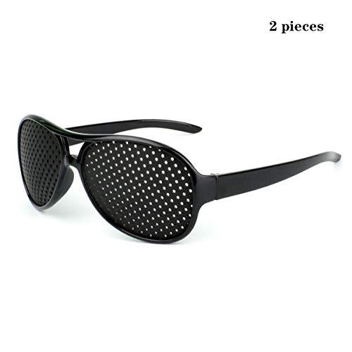 YTVYUN- Sonnenbrille Sehkorrekturbrille Sehkraft Verhinderung von Sehkraftnähe Astigmatismus Amblyopie Mikroloch Anti-Fatigue