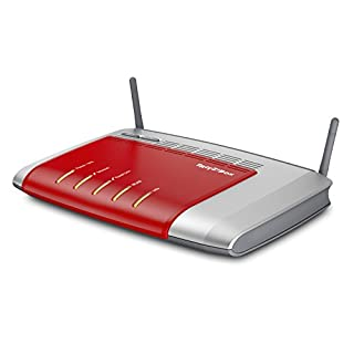 AVM FRITZ!Box 7272  WLAN Router (ADSL, 450 Mbit/s, DECT-Basis, Media Server) geeignet für Österreich/Schweiz