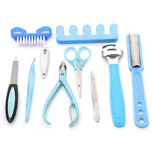 Foolzy 10 in 1 Manicure Pedicure Set Kit (KIT-2)