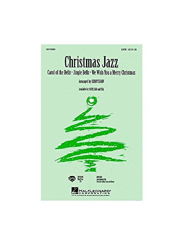 Christmas Jazz (SATB). Partitions pour SATB, Accompagnement Piano