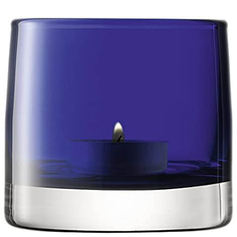LSA International Light Color Votive Holder, H3.25, Cobalt Blue by LSA International