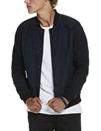 Scotch & Soda Bomber Jacket In Soft Suede Quality, Vestes Homme