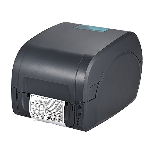 aibecy gp-9025t Quittung Thermo-Transfer Label Barcode 80 mm breite USB Schnittstelle für TPV Logistik Jewlery Catering Industry